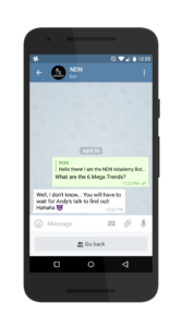 chatbot answer 1