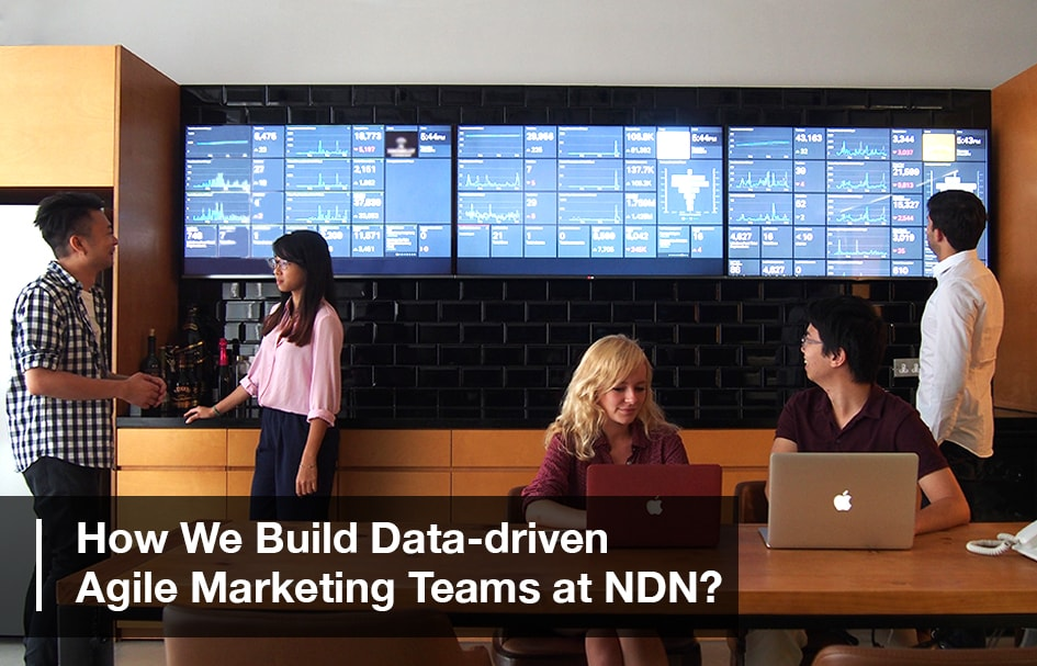 dashboard data driven agile marketing agency
