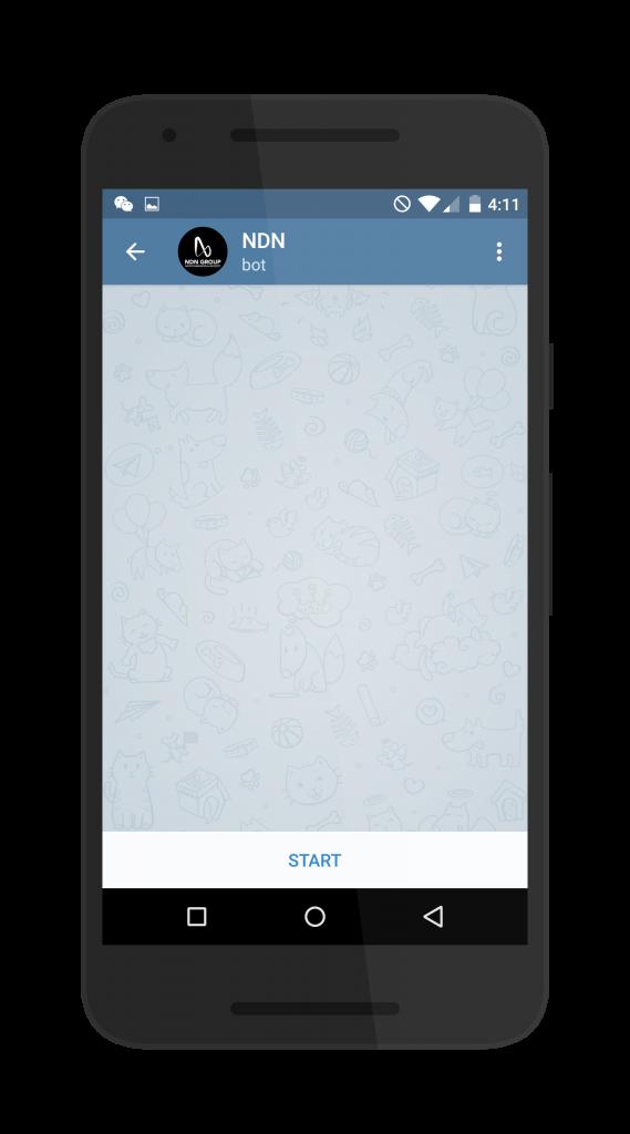 Messenger Bot start